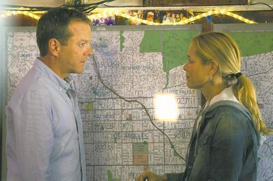 FoxKiefer Sutherland and Maria Bello in Touch.