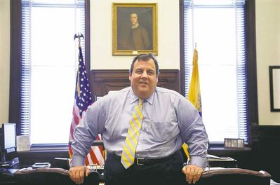 New Jersey Gov. Chris Christie's win, with more than 60 percent of the vote, is impressive. He also enjoyed the best of all fortunes: an unknown, under-financed, mediocre opponent.