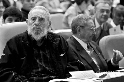 Ismael Francisco / The Associated PressBrothers Fidel (left) and Raul Castro at opening session of National Assembly.