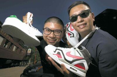 Winnipeg's Got Sole was a big hit in 2013, and organizers Jerry Legaspi, left, and Frendell Cano expect the sneaker expo to be a success this year, too.