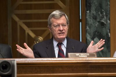 Senate Finance Committee Chairman Sen. Max Baucus, D-Mont. in Washington, April 17, 2013. THE CANADIAN PRESS/AP, J. Scott Applewhite