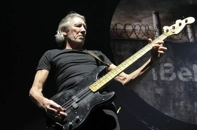 Roger Waters performs Pink Floyd's The Wall at the MTS Centre Thursday evening.