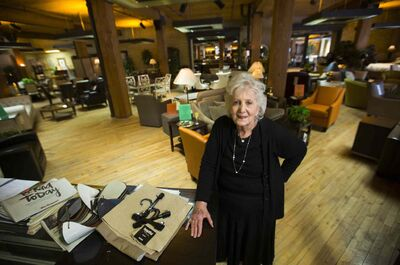 Cynthia Brick in Brick's Fine Furniture Wednesday. An Exchange BIZ official says Brick's paved the way for Exchange retail.