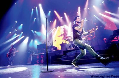 There's no question Maroon 5's Adam Levine has 'the voice' and he knows how to strut, too.