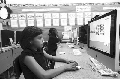 Increasingly, today's students learn on computers and online.