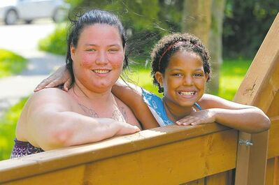 Amber MacKay is excited her daughter, Shykira, is heading to Camp Arnes thanks to the Sunshine Fund.