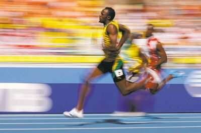 Jamaican sprinter Usain Bolt is the  fastest human on the planet, but a dragonfly would leave him in the dust.