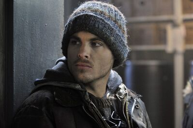 "Actor Kevin Zegers is shown in a scene from the Canadian horror film ""The Colony."" THE CANADIAN PRESS/HO-Alliance Films"