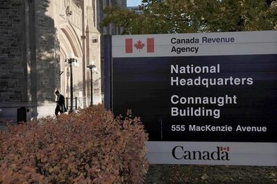"""The Canada Revenue Agency headquarters in Ottawa is pictured on November 4, 2011. An independent Liberal senator says the Canada Revenue Agency is misleading Canadians when it claims it's making serious efforts to combat offshore tax evasion. Sen. Percy Downe, who has been pushing for a crackdown on wealthy individuals and corporations who stash their money in offshore tax havens, says the CRA is hiding behind """"weasel words"""" to disguise the fact that it's actually doing little to remedy the problem. THE CANADIAN PRESS/Sean Kilpatrick"""