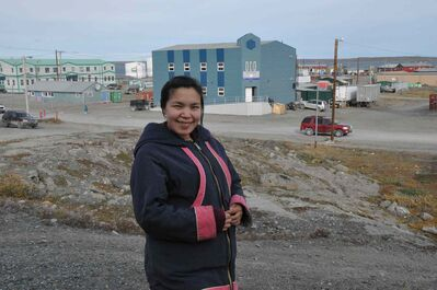 Samantha Tutanuak gave birth to her second child, a boy named Michael Angelo, in Rankin Inlet on Dec. 12.