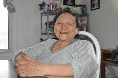 Monica Ugjuk gave birth 13 times, including twice out on the land, and now passes on Inuit birth traditions.