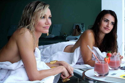 "Cameron Diaz, left, and Penelope Cruz star in ""The Counselor. """