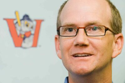 Winnipeg Goldeyes GM Andrew Collier
