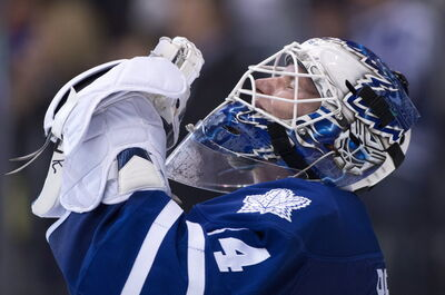 Manitoba native James Reimer is slated to be between the pipes tonight for Toronto when the desperate Leafs host the Winnipeg Jets.