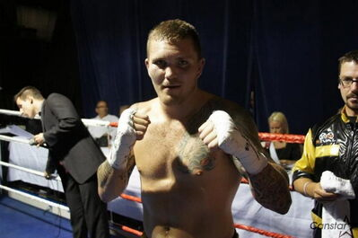 Andy Gardiner is perfect as a professional, winning all six of his bouts since exiting the amateur ranks in May.