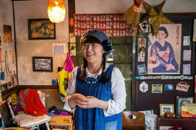 GREG GALLINGER / WINNIPEG FREE PRESS </P><p>Valentine, a friend of Ray Epp&#39;s who runs a small restaurant out of her farmhouse in Naganuma, Japan.