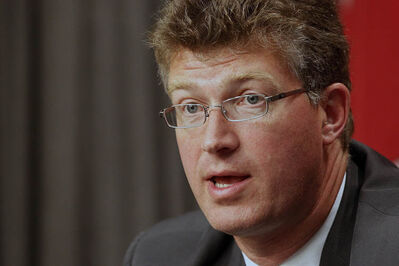 Justice Minister Andrew Swan, June 2012