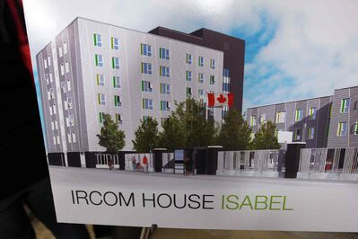 The $14.7-million immigrant housing project on Isabel Street has been plagued by delays. The province expects it to be completed by fall.