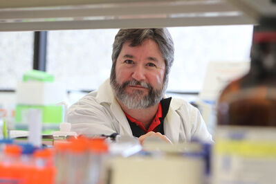 Dr. Geoff Hicks and his team of researchers have discovered the mutated gene that causes ALS.