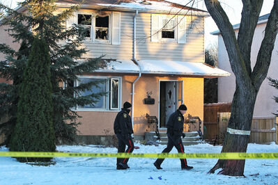 A house fire at 516 Cordova St. sent one person to the hospital this afternoon.