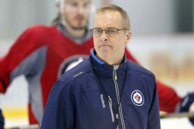 Head coach Paul Maurice still needs a lineup card to keep track of all the new faces he saw at Tuesday's practice.