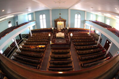 Ashkenazy Synagogue was founded in 1921 by Lithuanian immigrants.