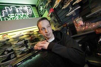 "Matthew Frost, owner of City Haul, says he is ""getting the boot from the business community"" in Winnipeg Frost's long-time Winnipeg head shop and others are being forced to close because of pressure from police."