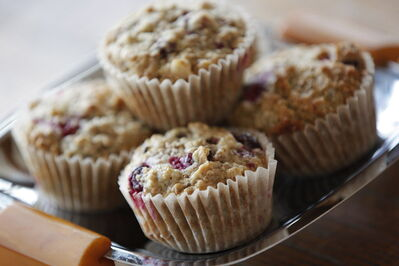 Red River cereal gives these muffins a bit of texture.
