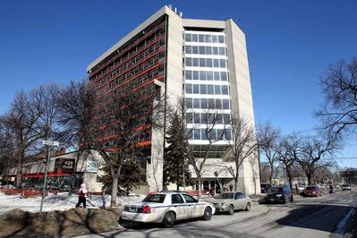 Police are still at the scene this morning of a homicide which occurred at an apartment block on Elgin Avenue Tuesday afternoon.