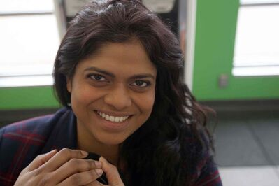 Sangeetha Nair feels as if she is addicted to volunteering.