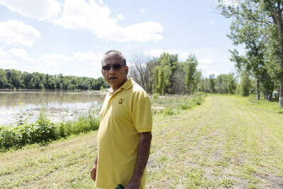 Winnipeg West KOA Campground owner Has Koria says the campsite won't be able to open until August once flood cleanup is done.