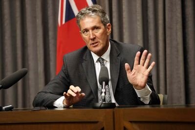 Brian Pallister reacts to the dismissal of his PST lawsuit against the provincial government.