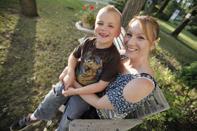 Crystal Davis sent her six-year-old son, Michael, to Camp Arnes for three days this summer.