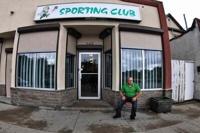 Tony Pereira, manager of the Sporting Club of Portugal, talks about Helder Serpa, 57, who police said suffered multiple stab wounds while walking home from the sports bar early Saturday morning.