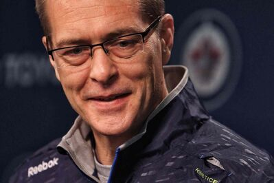 Jets head coach Paul Maurice says he enjoyed the warm weather during his first summer in Winnipeg.