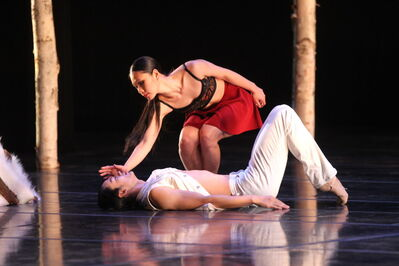 The Royal Winnipeg Ballet's World premiere of Going Home Star, attended by First Nations elders, depicts the history of residential schools.