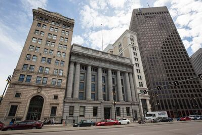 The Millennium Centre at 389 Main Street is a heritage building located in the Exchange District. It is the previous home of the Canadian Imperial Bank of Commerce and is now used as an event venue.