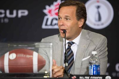 Canadian Football League commissioner Mark Cohon says he will never sign a CBA tying a salary cap to league revenue.