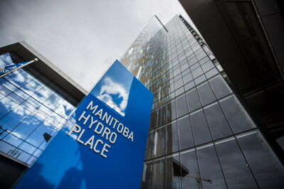 The cost of Manitoba Hydro's headquarters increased from $75 million to $300 million.