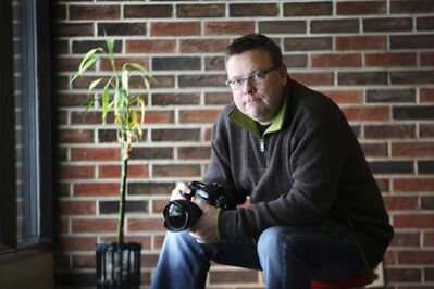 Commercial photographer Doug Little had a heart attack two years ago but didn't have the typical symptoms and took a while to get to the hospital.