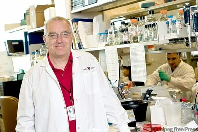 the canadian press / handoutDr. John Bell�s research shows viral therapy given intravenously spreads within cancer tumours without harming normal tissue.