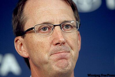Winnipeg Jets owner Mark Chipman
