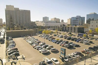 Surface parking lots are in little danger of disappearing.