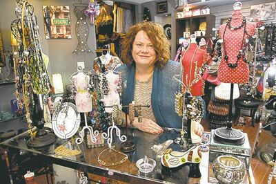 Boutique Unique owner Brenda Weiss at her store, which started as a booth at the St. Norbert Farmers' Market.