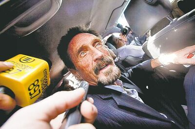 Moises Castillo / The Associated Press