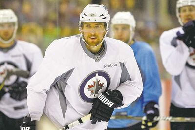 KEN GIGLIOTTI / WINNIPEG FREE PRESS archives With any luck around the net Tuesday night, Jets forward Blake Wheeler could easily have had two or three goals against the Sabres.