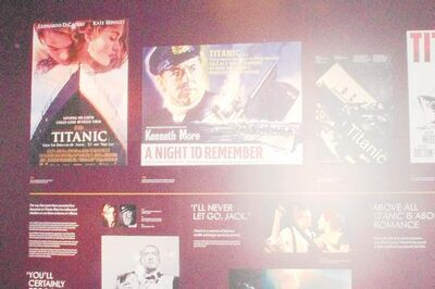 Numerous Titanic movies were featured in the Myths and Reality section of Titanic Belfast.