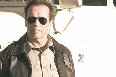 "Arnold Schwarzenegger stars as 'Ray Owens' in ""The Last Stand."" (Merrick Morton/Courtesy Lionsgate/MCT)"