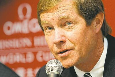George O'Grady was in hot water Thursday after a live TV interview.