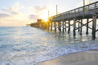 The Newport Fishing Pier in Sunny Isles Beach will re-open in June after a total overhaul.